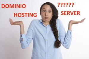 dominio web hosting server